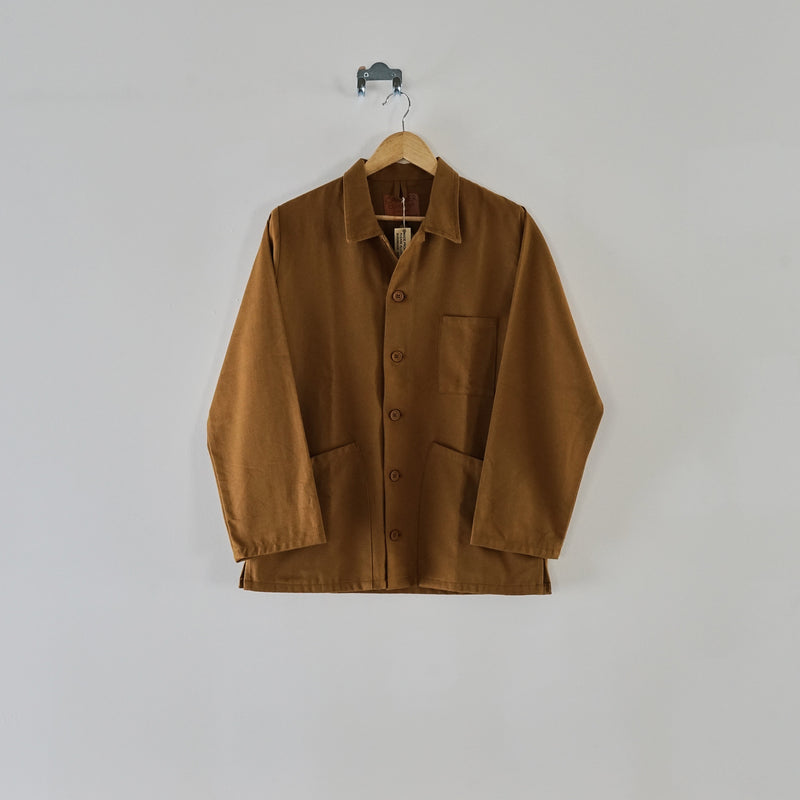Norfolk work jacket - tan