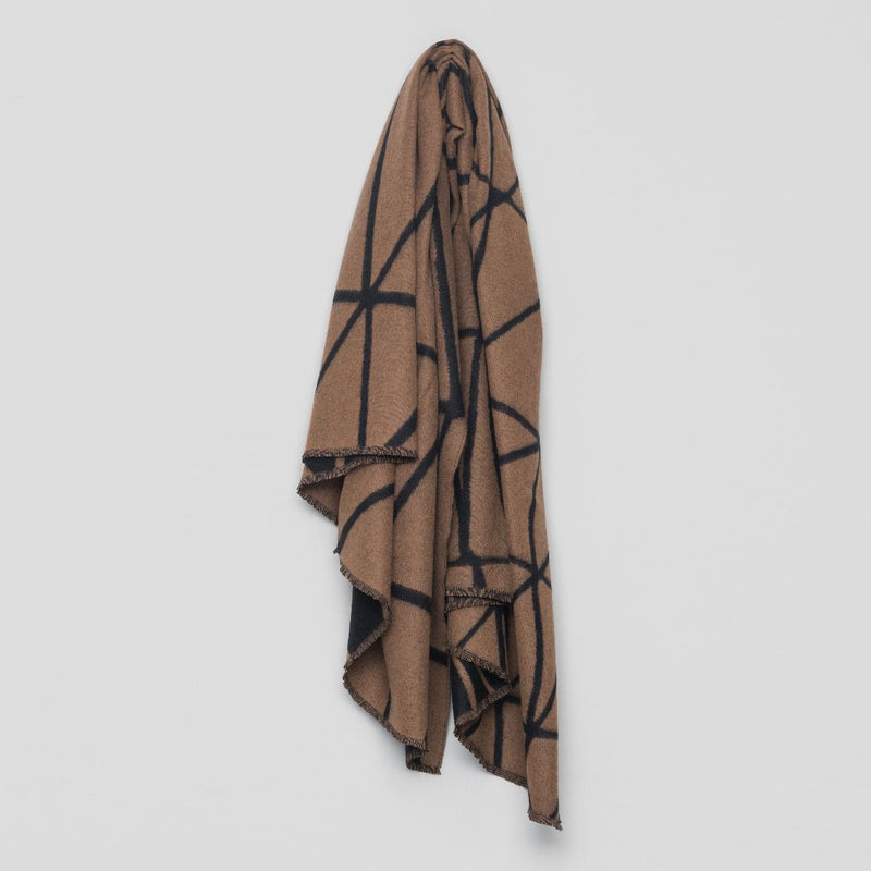 Valley Link Lambswool Cashmere Throw – Vicuna