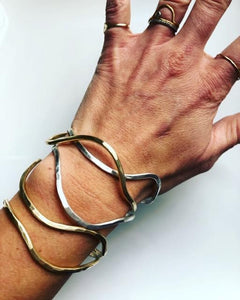 Wavy Essential Cuffs (Set of 3)
