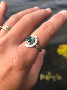 Tourmaline Eclipse Ring