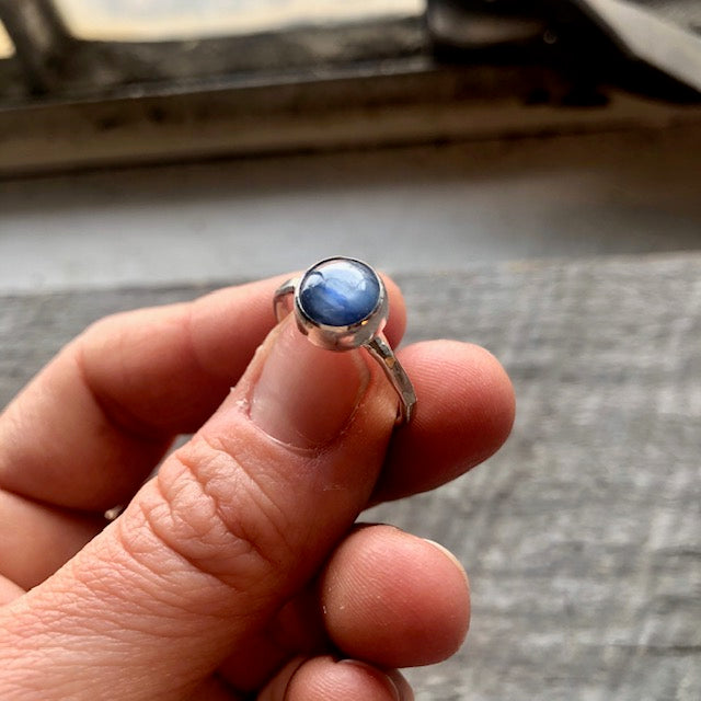 Embraced Kyanite Ring