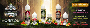 Illusion E-Juice Horizon Series - Bay Vape Canada