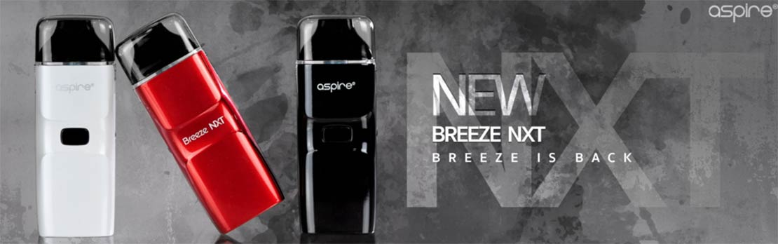 Aspire Breeze NXT Pod System Starter Kit | Bay Vape