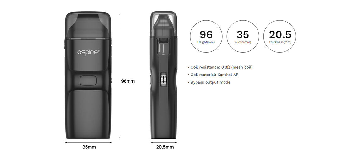 Aspire Breeze NXT Pod System Kit | Bay Vape Canada