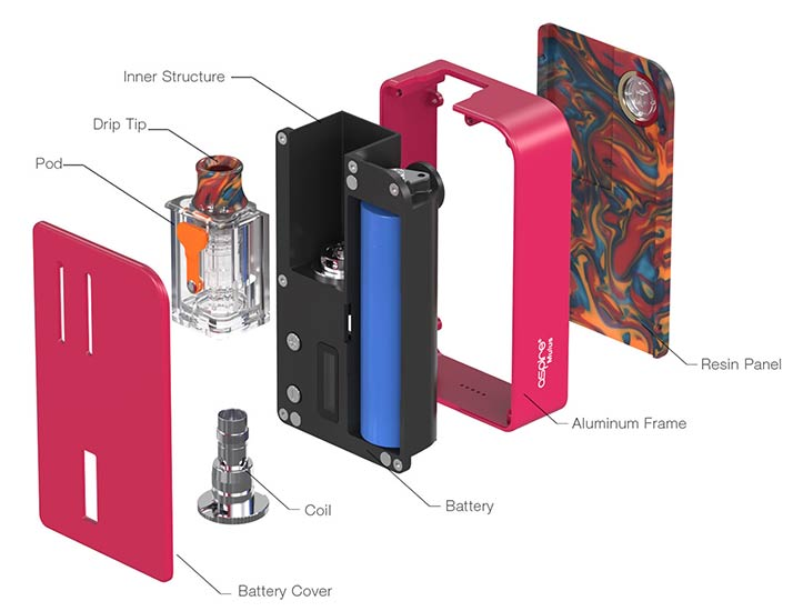 Aspire Mulus 80W Pod Kit - Bay Vape Canada