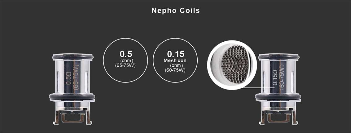 Aspire Nepho Replacement Coils | Bay Vape