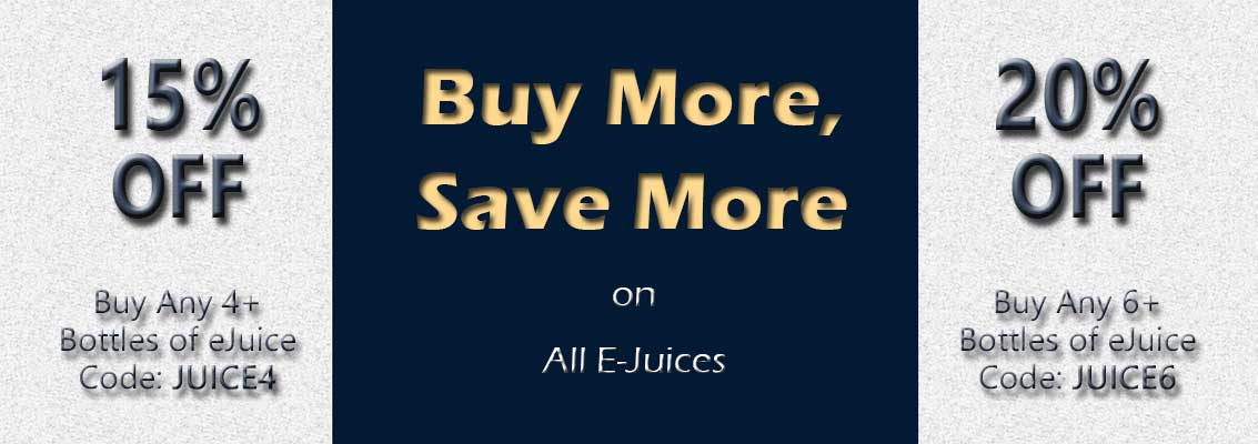 Buy More, Save More - Discount Code - Bay Vape Canada