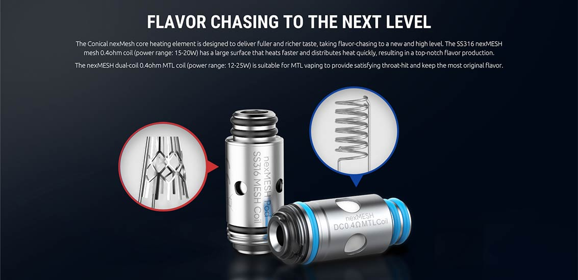 SMOK & OFRF nexMESH Replacement Coils - Bay Vape Canada