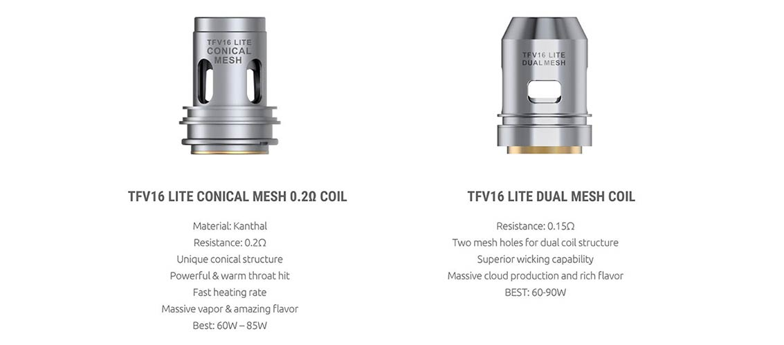 SMOK TFV16 LITE Replacement Coils | Bay Vape