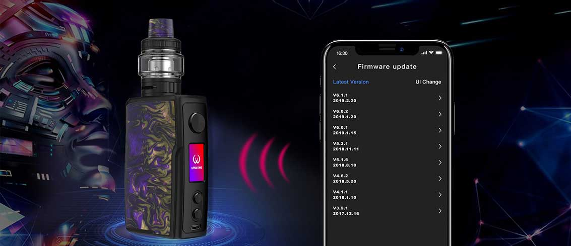 Vandy Vape SWELL 188W Starter Kit | Bay Vape