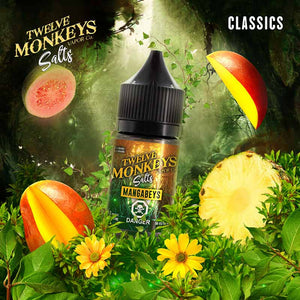 Mangabeys Nic Salts by Twelve Monkeys E-Juice - Bay Vape
