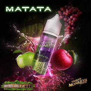 Matata by Twelve Monkeys E-Juice (30mL / 60mL) - Bay Vape