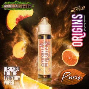 Puris by Twelve Monkeys Origins E-Juice (60mL) - Bay Vape