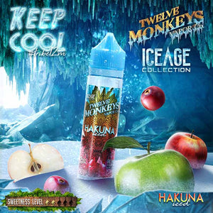 Hakuna Iced by Twelve Monkeys Ice Age E-Liquid - Bay Vape