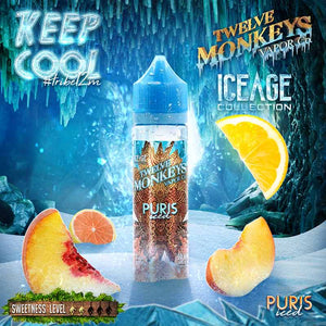 Puris Iced by Twelve Monkeys Ice Age E-Liquid - Bay Vape