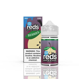 Berries ICED Reds Apple E-Juice by 7 Daze - Bay Vape