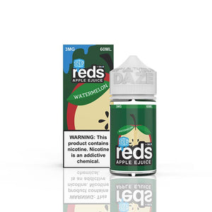 Watermelon ICED Reds Apple E-Juice by 7 Daze - Bay Vape