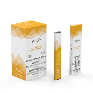 ALLO Disposable Vape Device - Orange Ice - Bay Vape