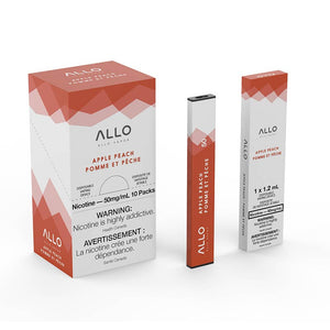 ALLO Disposable Vape Device - Apple Peach - Bay Vape