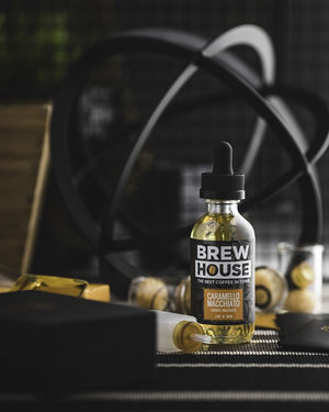 Caramello Macchiato By Brew House E-Juice - Bay Vape