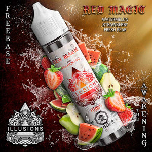 Red Magic by Illusions Vapor E-Juice - Bay Vape