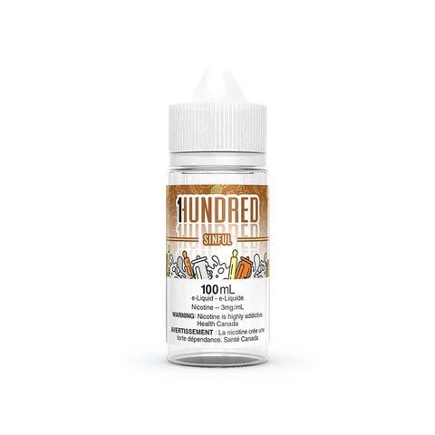 Sinful by Hundred E-Liquid 100mL