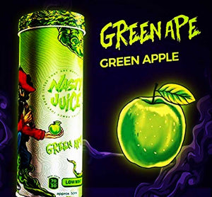 Green Ape By Nasty Juice Yummy Fruity Series E-Liquid - Bay Vape