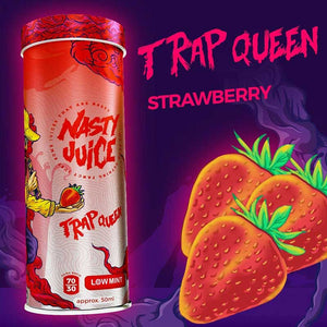 Trap Queen By Nasty Juice Yummy Fruity Series E-Liquid - Bay Vape