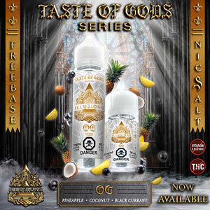 Taste of Gods OG by Illusions Vapor E-Juice - Bay Vape