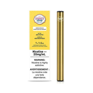 Dinner Lady Disposable Vape Pen - Lemon Citrus Ice - Bay Vape