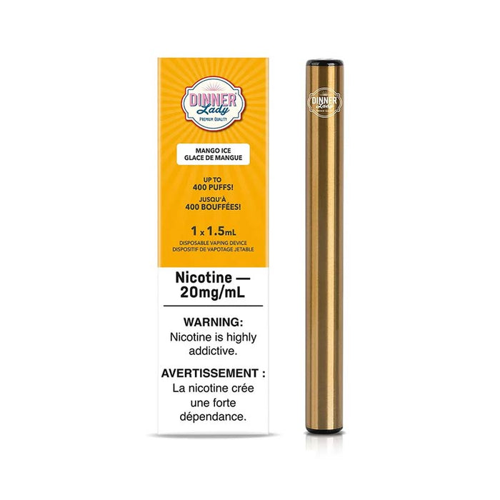 Dinner Lady Disposable Vape Pen - Mango Ice
