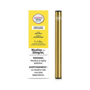 Dinner Lady Disposable Vape Pen - Original Lemon - Bay Vape