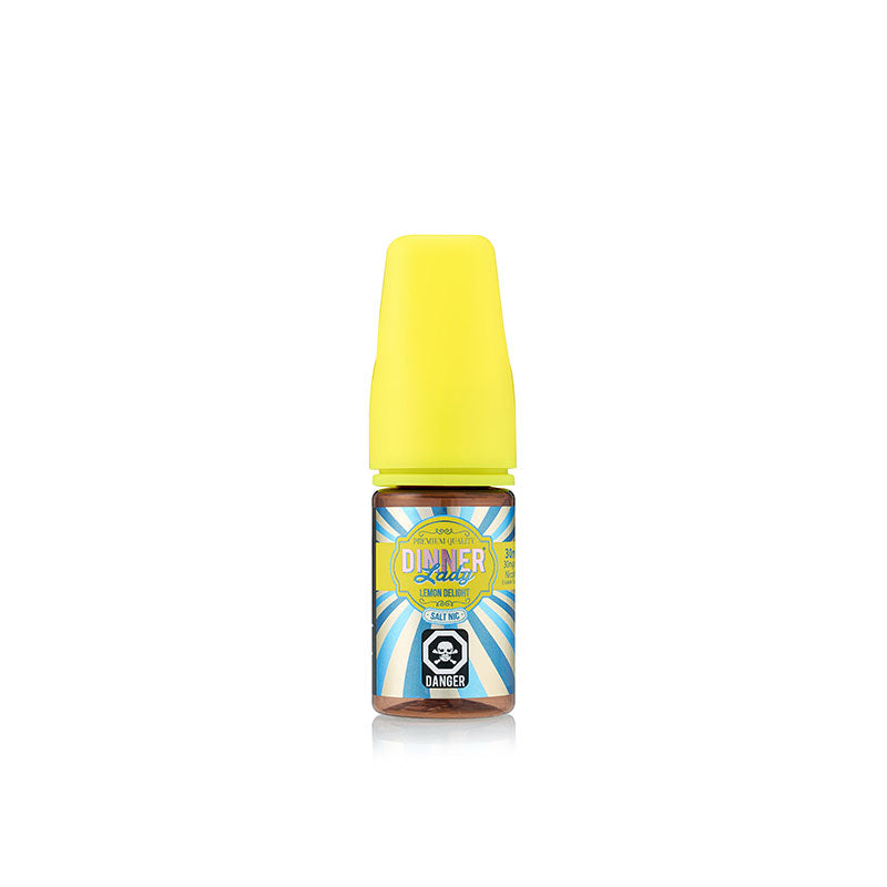 Original Lemon (Lemon Delight / Lemon Tart) Nic Salt Juice by Dinner Lady - Bay Vape