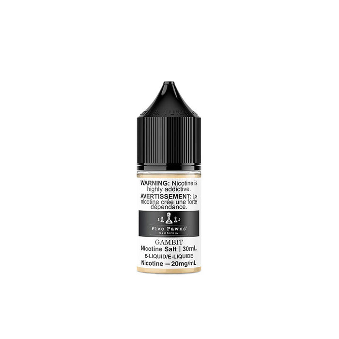 Gambit Nic Salt Juice by Five Pawns Salts