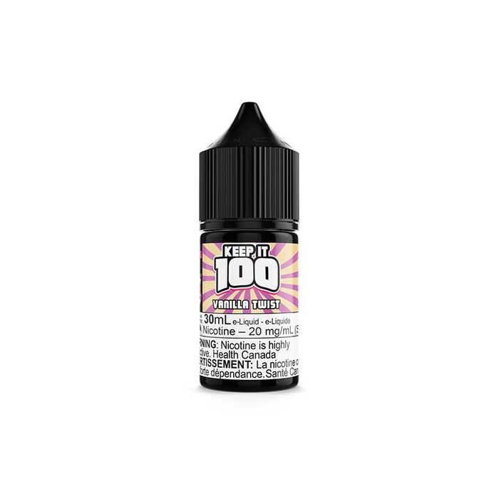 Vanilla Twist by Keep It 100 Salts