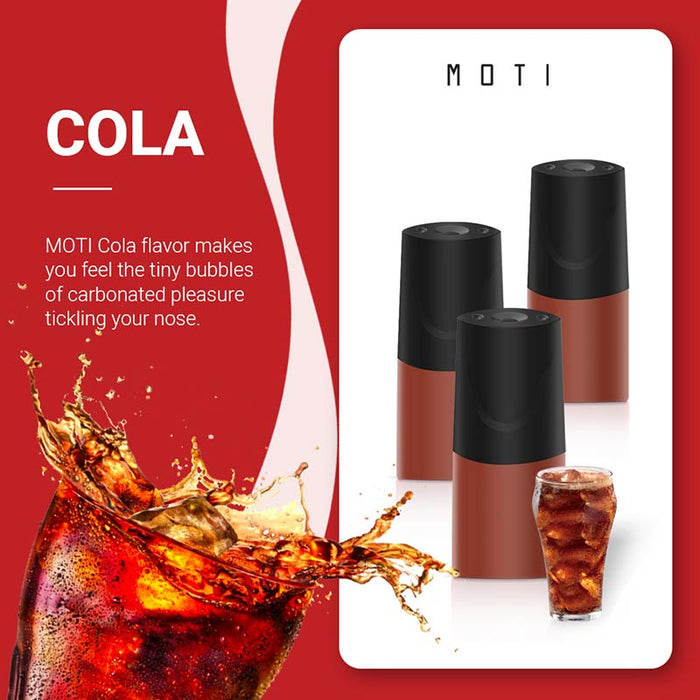 MOTI Vape Pre-Filled Replacement Pod - Cola