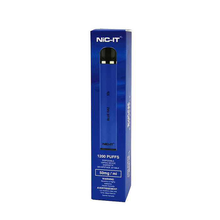 NiC-IT XL Disposable Vape Device - Blue Raz