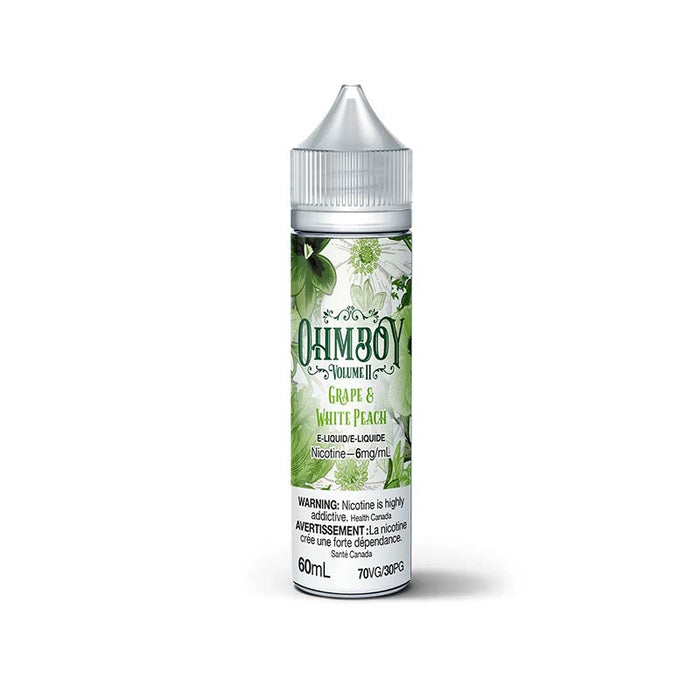 Grape & White Peach by OhmBoy E-Liquid