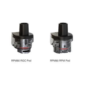 SMOK RPM80 Empty Replacement Pods (3 Pack) - Bay Vape