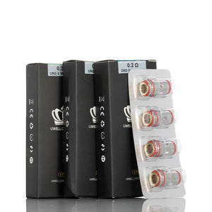 Uwell Crown 5 Replacement Coils (4 Pack) - Bay Vape