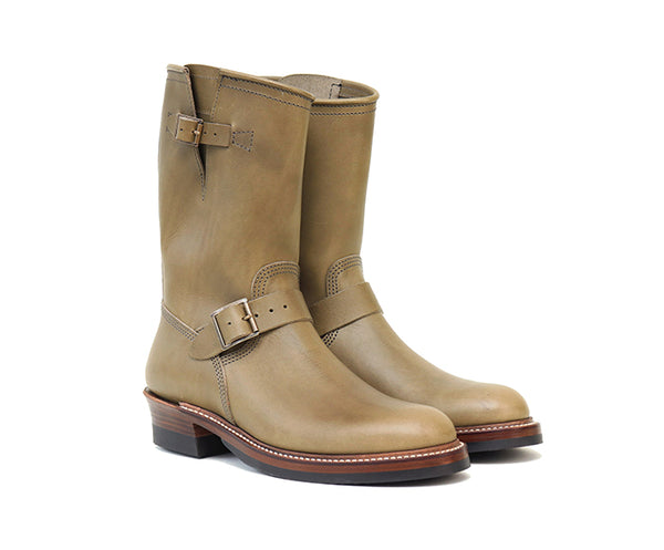 【PRE-ORDER】<br>ENGINEER BOOTS <br> BADALASSI CARLO LEATHER GRIGIO