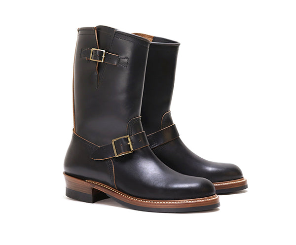 ENGINEER BOOTS <br> HORWEEN LEATHER CXL BLACK