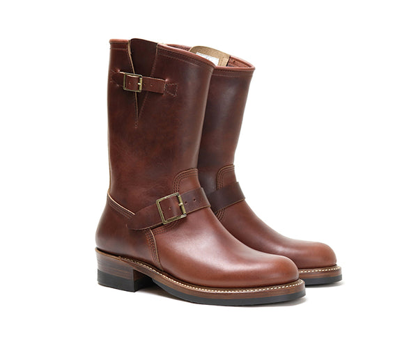ENGINEER BOOTS <br> HORWEEN LEATHER CXL BROWN