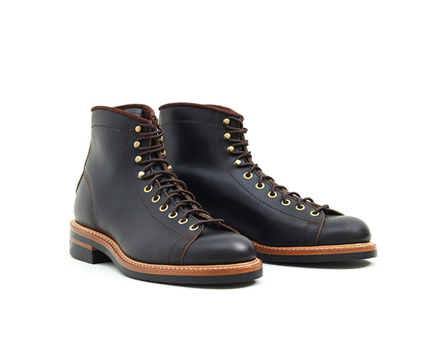 MONKEY BOOTS <br> HORWEEN LEATHER CXL BLACK