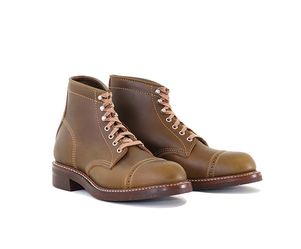 COMBAT BOOTS<br> HORWEEN LEATHER CXL DARK OLIVE<br>