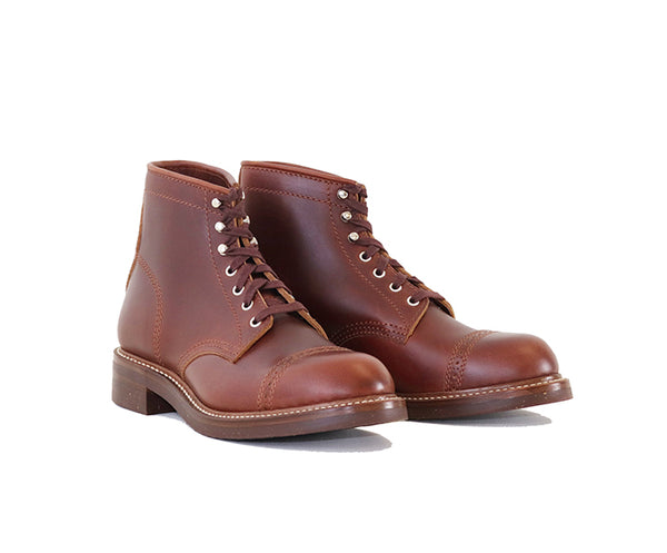 COMBAT BOOTS<br> HORWEEN LEATHER CXL TIMBER<br>