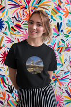 Load image into Gallery viewer, Lighthouses of Ireland - Unisex Crew Neck T-Shirt, peeTeez