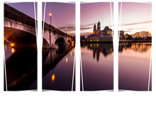 Load image into Gallery viewer, Bridge of Athlone Westmeath - Ireland Unisex Crew Neck T-Shirt, peeTeez