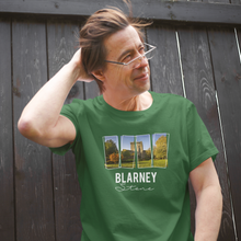 Load image into Gallery viewer, Blarney Castle Cork - Ireland Unisex Crew Neck T-Shirt, peeTeez