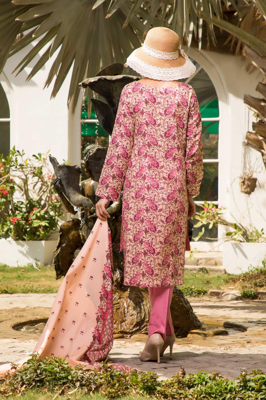Unstitched Two Piece Shirt & Dupatta SSL-192-01B